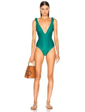 Heathers Tie Swimsuit