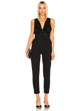Bow Belt Jumpsuit