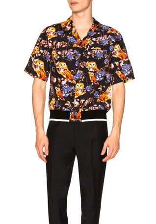 Souvenir Surreal Animal Print Shirt