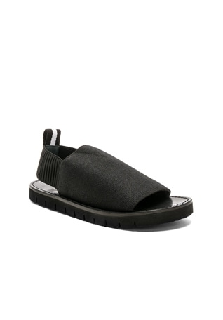 Elastic Strap Sandals