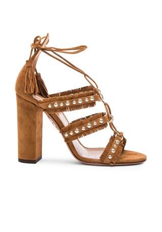 Suede Tulum Sandals