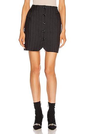 Ivet Pinstripe Skirt