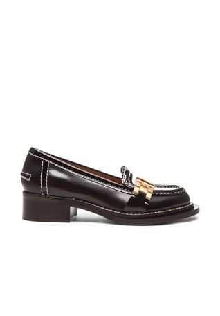 Penny Watch Strap Leather Loafers