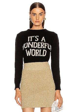 It's A Wonderful World Sweater