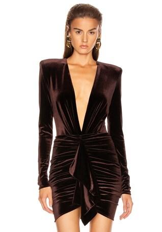 Velvet Jersey Bodysuit