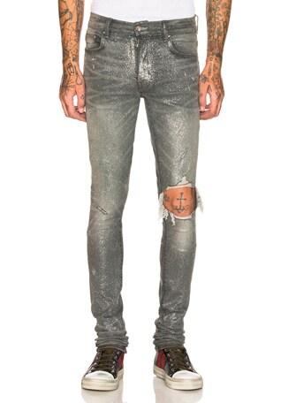 Glitter Broken Jean