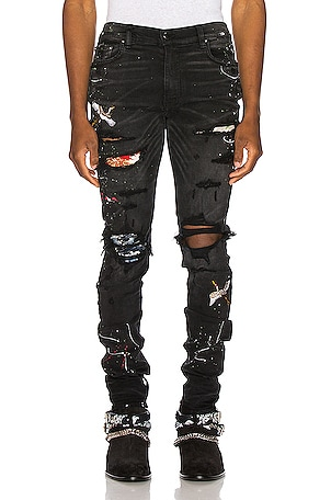 Art Patch Jean