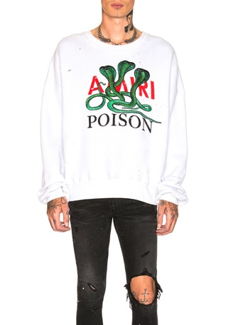 Poison Loose Fit Crewneck