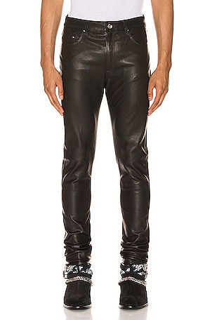 5 Pocket Leather Pant