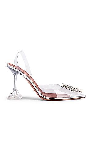 Begum Glass Heel