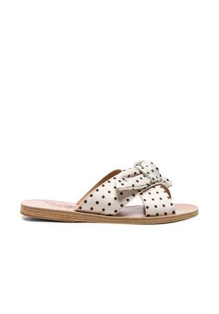 Satin Thais Bow Sandals