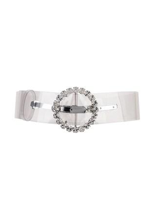 Circle Buckle Belt