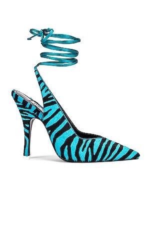 Zebra High Heel Slingback