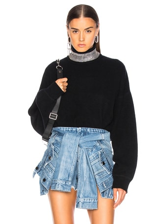Crystal Turtleneck Sweater