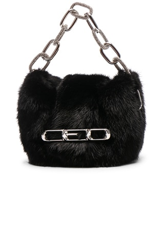 Micro Mini Mink Clutch