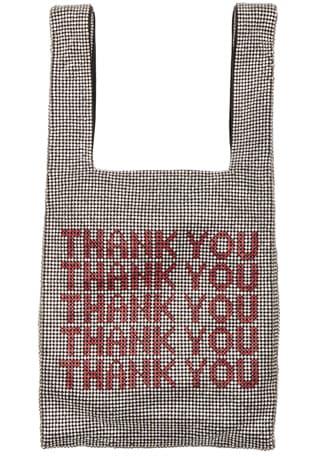 Wanglock Thank You Mini Shopper Bag