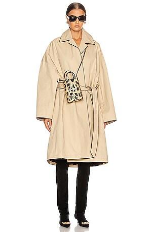 Short Cocoon Coat