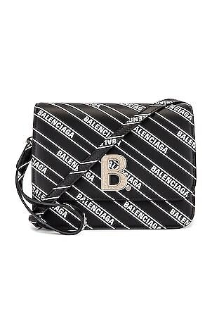 Small Diagonal Logo B Bag