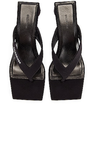 Logo Double Square Sandals