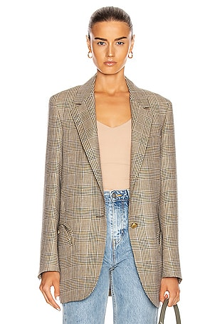 Merit Weekend Single Breast Blazer