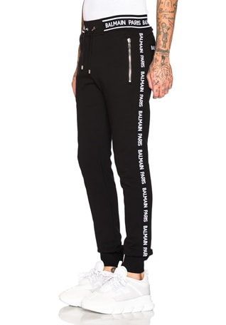 Elasticated Side and Waist Sweatpant