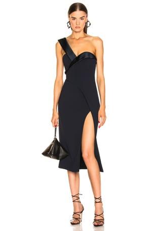 One Shoulder Cocktail Dress