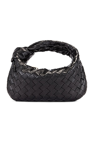 Leather Woven Shoulder Bag