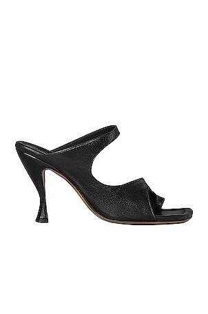 Leather Cutout Sandals