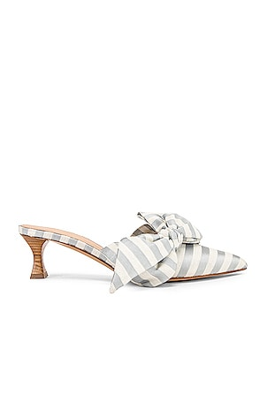 Tess Stripes Bow Heels