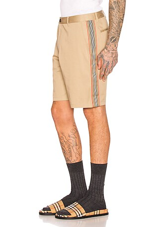 Icon Stripe Chino Shorts