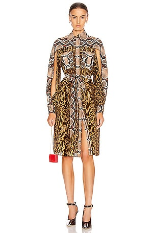 Costanza Animal Print Dress