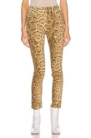 Joline Leopard Jean