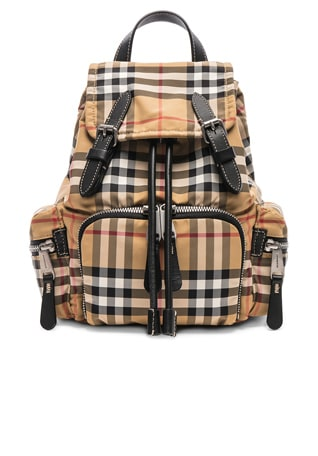 Small Vintage Check Backpack