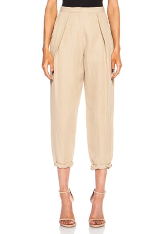 Anaelle Silk-Blend Trouser