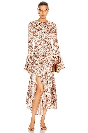 for FWRD Monique Midi Dress