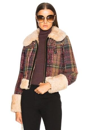 Tweed Check Jacket
