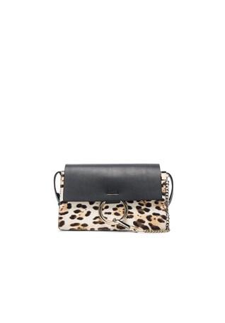 Small Leopard Print Faye Bag