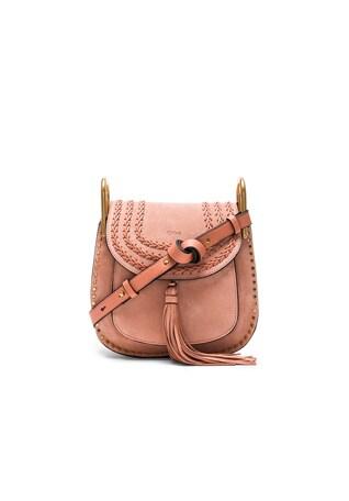Small Suede Hudson Bag