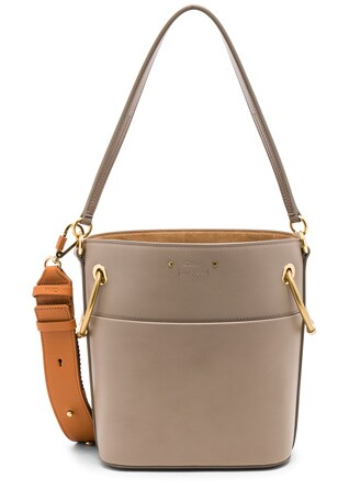 Small Roy Calfskin Bucket Bag