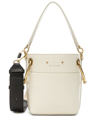 Mini Roy Calfskin Bucket Bag