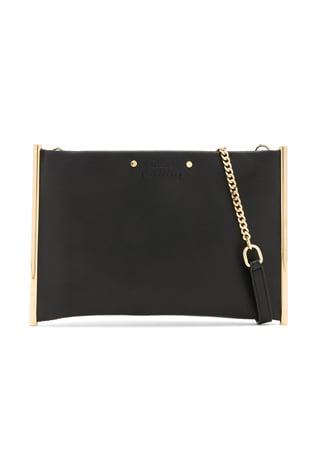 Roy Smooth Calfskin Clutch