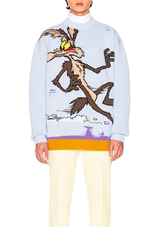 Coyote Crew Neck Sweater