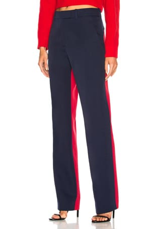 Colorblocked Trousers