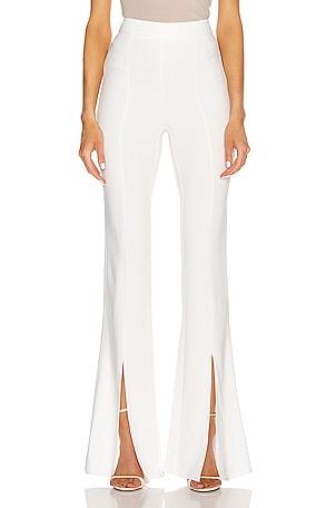 High Waisted Slim Flare Pant