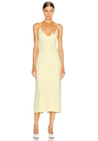 Floating Coil Slip Dress