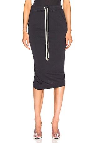 Soft Pillar Short Skirt