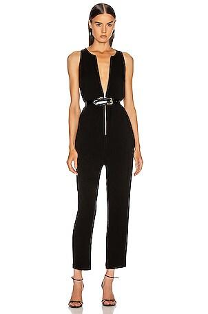 Front Zip Jumpsuit
