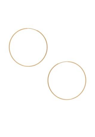 14K Gold Hoop II Earring