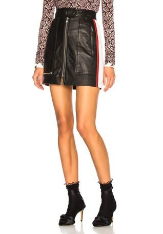 Leather Alynne Skirt