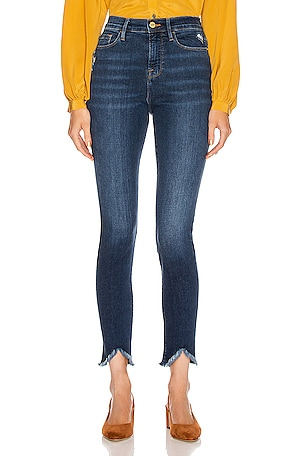 Ali High Rise Skinny Triangle